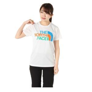 ノースフェイス Tシャツ 半袖 レディース S/S Colorful Logo Tee ショートスリーブカラフルロゴティー NTW31931 THE NORTH FACE|himaraya