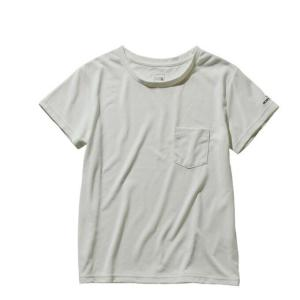 ノースフェイス Tシャツ 半袖 レディース S/S Pocket Tee ポケット ティー NTW31935 W THE NORTH FACE|himaraya