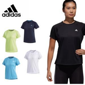アディダス Tシャツ 半袖 レディース 定番ロゴワンポイント半袖Tシャツ FTF32 adidas