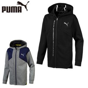プーマ スウェットパーカー ジュニア キッズ エナジー フルジップ フーディー 844131 PUMA|himaraya