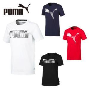 プーマ Tシャツ 半袖 ジュニア MSコットン 半袖Tシャツ 843990 PUMA