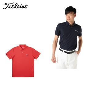 4ca2d3b3a7786 タイトリスト Titleist ゴルフウェア ポロシャツ 半袖 メンズ 綿混カノコポロシャツ TSMC1905
