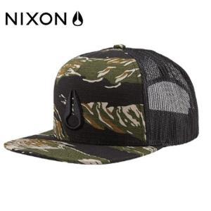 ニクソン NIXON キャップ 帽子 メンズ DEEP DOWN TRUCKER HAT ディープ ...
