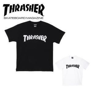 スラッシャー THRASHER Tシャツ 半袖 メンズ レディース MAG Flocky on TH8101SF|himaraya