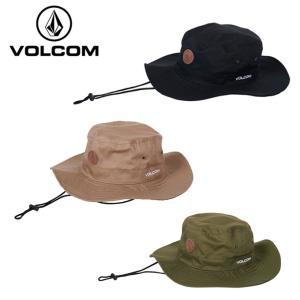 ボルコム VOLCOM ハット メンズ レディース QUARTER PATCH ADVENTURE HAT クウォーター パッチ アドベンチャーハット D55119JA|himaraya