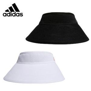 アディダス ゴルフ サンバイザー レディース UVコンパクト美バイザー XA164 adidas