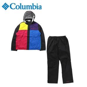 コロンビア レインウェア 上下セット メンズ シンプソンサンクチュアリ レインスーツ PM0124 013 Columbia|himaraya