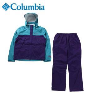 コロンビア レインウェア 上下セット メンズ シンプソンサンクチュアリ レインスーツ PM0124 324 Columbia|himaraya