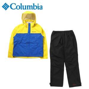 コロンビア レインウェア 上下セット メンズ シンプソンサンクチュアリ レインスーツ PM0124 752 Columbia|himaraya