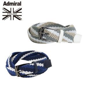 アドミラル Admiral ゴルフ ベルト メンズ ゴムメッシュベルト ADMB8FV2