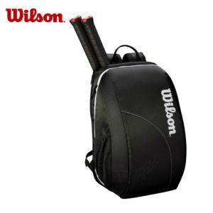 ウィルソン テニス ラケットリュック 2本用 FED TEAM BACKPACK フェデラーチームバックパック WRZ834895 Wilson メンズ レディース|himaraya