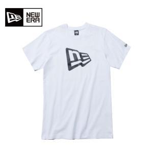 ニューエラ NEW ERA  Tシャツ 半袖 メンズ レディース コットン Tシャツ フラッグロゴ 11782996|himaraya