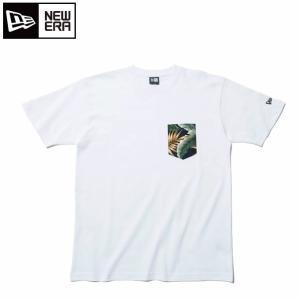 ニューエラ NEW ERA Tシャツ 半袖 メンズ レディース コットン ポケットTシャツ ボタニカル 11901361|himaraya
