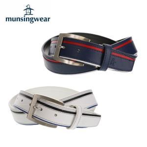 マンシング Munsingwear ゴルフ ベルト メンズ ライン配色ベルト MGBNJH08|himaraya