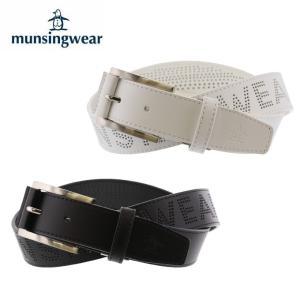 マンシング Munsingwear ゴルフ ベルト メンズ パンチング柄ベルト MGBNJH09|himaraya