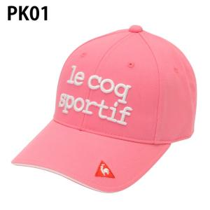 ルコック le coq sportif ゴルフ キャップ レディース ベーシックキャップ QGCNJC01|himaraya|06