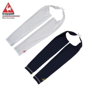 ルコック le coq sportif ゴルフ レディース アームカバーズレ防止肩紐付き QGCNJD51|himaraya