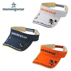 マンシング Munsingwear ゴルフ サンバイザー レディース Taroutコラボバイザー MGCNJC61|himaraya