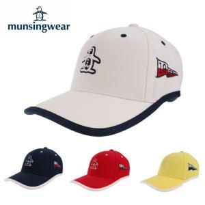 マンシング Munsingwear ゴルフ キャップ レディース ペンギンアップリケウェーブカットキャップ MGCNJC01|himaraya