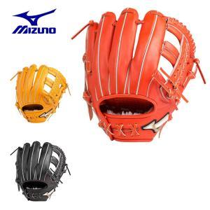 ミズノ 野球 一般軟式グラブ オールラウンド用 メンズ 軟式用 グローバルエリート Hselection02 Hセレクション サイズ10 1AJGR20400 MIZUNO|himaraya