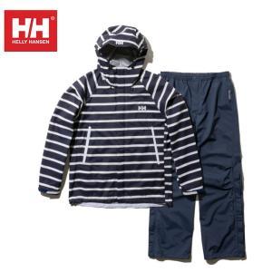 ヘリーハンセン HELLY HANSEN レインウェア上下セット レディース スカンザヘリーレインスーツ HOE11700W N1|himaraya
