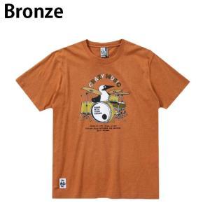 チャムス CHUMS Tシャツ 半袖 メンズ レディース ブービードラムスTシャツ Booby Drums T-Shirt CH01-1513 himaraya 02