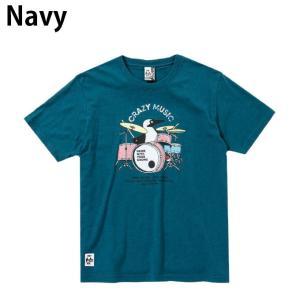 チャムス CHUMS Tシャツ 半袖 メンズ レディース ブービードラムスTシャツ Booby Drums T-Shirt CH01-1513 himaraya 03