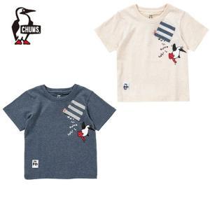チャムス CHUMS 半袖シャツ ジュニア キッズブービーハングオンTシャツ Kid's Booby Hang On T-Shirt CH21-1095|himaraya