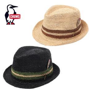 チャムス CHUMS ハット メンズ レディース Raffia Hat ラフィアハット 帽子 CH05-1172|himaraya