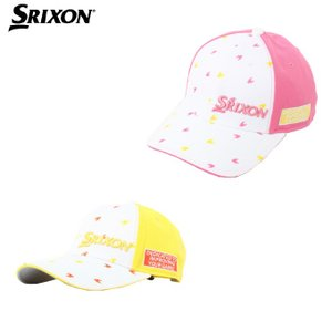スリクソン SRIXON ゴルフ キャップ レディース 飛び柄2トーンメッシュキャップ SWH9156L|himaraya