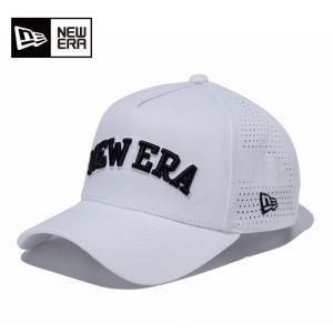 ニューエラ NEW ERA  ゴルフ キャップ メンズ 9FORTY A-Frame レーザーパーフォレーテッド ホワイト × ブラック 11781196|himaraya