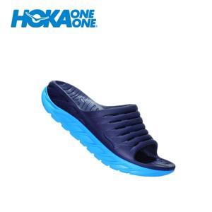 ホカオネオネ HOKA ONEONE シャワーサンダル メンズ ORA RECOVERY SLIDE オラ リカバリー スライド 1099673 EDNBの画像