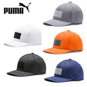 プーマ ゴルフ キャップ メンズ パッチ 110 スナップバックキャップ 021991 PUMA himaraya