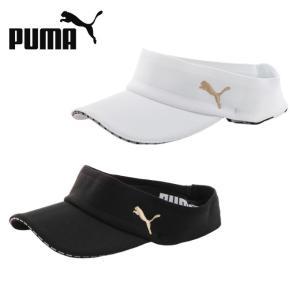 プーマ ゴルフ サンバイザー レディース ウィメンズ サマーニット バイザー 866506 PUMA himaraya