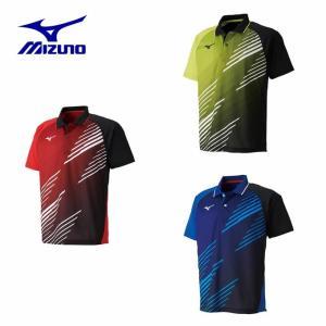 ミズノ 卓球ウェア メンズ レディース ゲームシャツ 82JA9007 MIZUNO|himaraya
