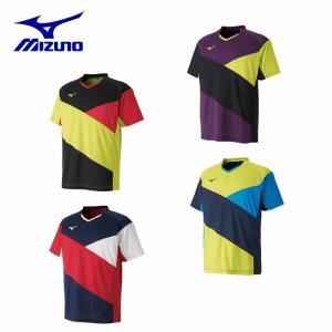 ミズノ MIZUNO 卓球ウェア メンズ レディース ドライサイエンスゲームシャツ 82JA9003|himaraya