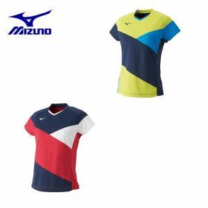 ミズノ MIZUNO 卓球ウェア メンズ レディース ドライサイエンスゲームシャツ 82JA9204|himaraya