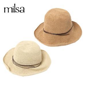 ミルサ milsa ゴルフ ハット レディース 手編みキャペリン 196-361203|himaraya