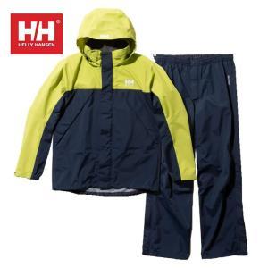 ヘリーハンセン HELLY HANSEN レインウェア上下セット メンズ ヘリーレインスーツ HOE11900 YG|himaraya