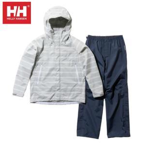 ヘリーハンセン HELLY HANSEN レインウェア上下セット レディース スカンザヘリーレインスーツ Scandza Helly Rain Suit HOE11700W H1|himaraya