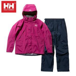 ヘリーハンセン HELLY HANSEN レインウェア上下セット レディース ヘリーレインスーツ Helly Rain Suit HOE11900W P|himaraya