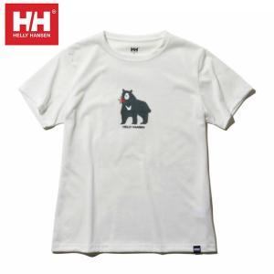ヘリーハンセン HELLY HANSEN Tシャツ 半袖 レディース ショートスリーブアムレットティー HOE61900UW W|himaraya