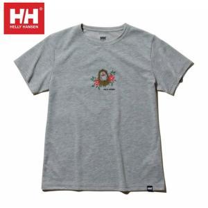 ヘリーハンセン HELLY HANSEN Tシャツ 半袖 レディース ショートスリーブアムレットティー HOE61900UW Z|himaraya