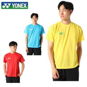 ヨネックス テニスウェア バドミントンウェア Tシャツ 半袖 メンズ レディース ユニ ドライ 努力...