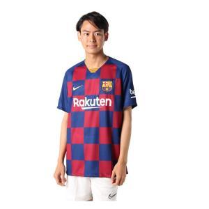 ナイキ サッカーウェア レプリカシャツ メンズ バルセロナ 2019/20 スタジアム ホーム AJ5532-456 NIKE himaraya