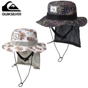 クイックシルバー QUIKSILVER サーフハット メンズ UPF50+ パッカブル UV WATER HAT PRT ウォーターハット QSA191752|himaraya