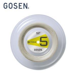 ゴーセン GOSEN バドミントンガット G-TONE 5 220M BS0653-NA