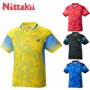 ニッタク Nittaku 卓球ウェア メンズ レディース SKYMILKY SHIRT スカイミルキーシャツ NW2189|himaraya