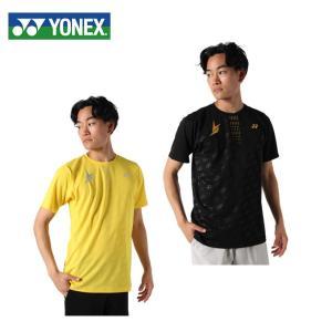 ヨネックス テニスウェア Tシャツ 半袖 メンズ 限定ドライ Tシャツ リンダン 16422 YON...