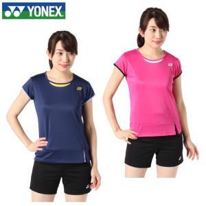 ヨネックス テニスウェア Tシャツ 半袖 レディース 限定ドライ 16378 YONEX